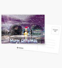 Penguin's Merry Christmas Postcards