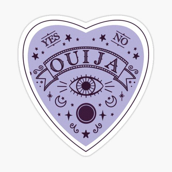 Ouija Heart Planchette Sticker