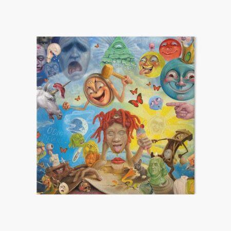 Triping Green Redd Bona Tour 2019 Art Board Print