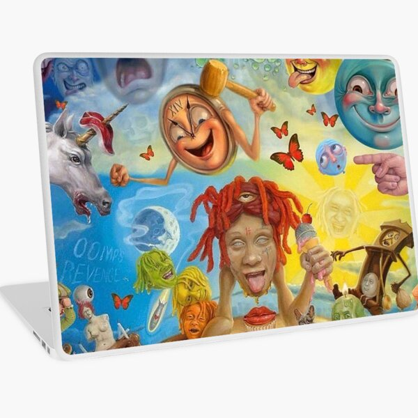 Triping Green Redd Bona Tour 2019 Laptop Skin