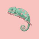 Loveheart Chameleon by Wendy-Stephens