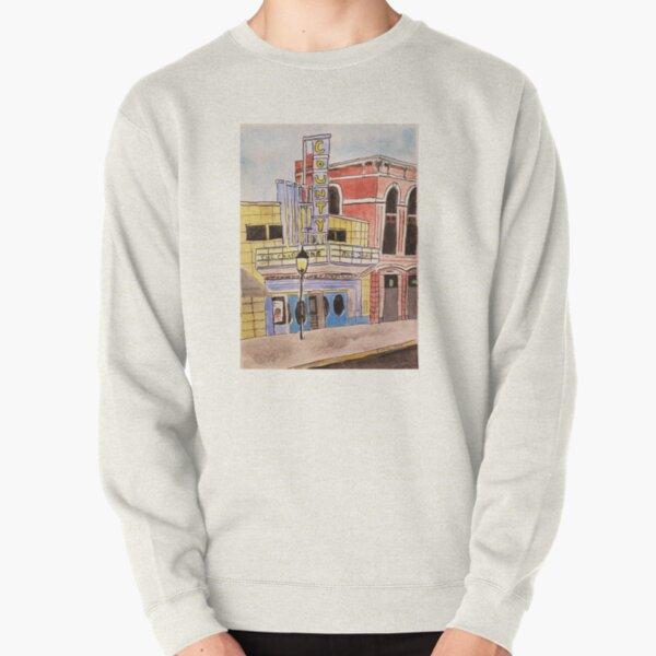 Doylestown theater painting Pullover Sweatshirt