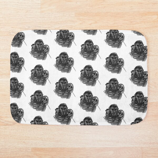 To Ape or not to Ape Bath Mat
