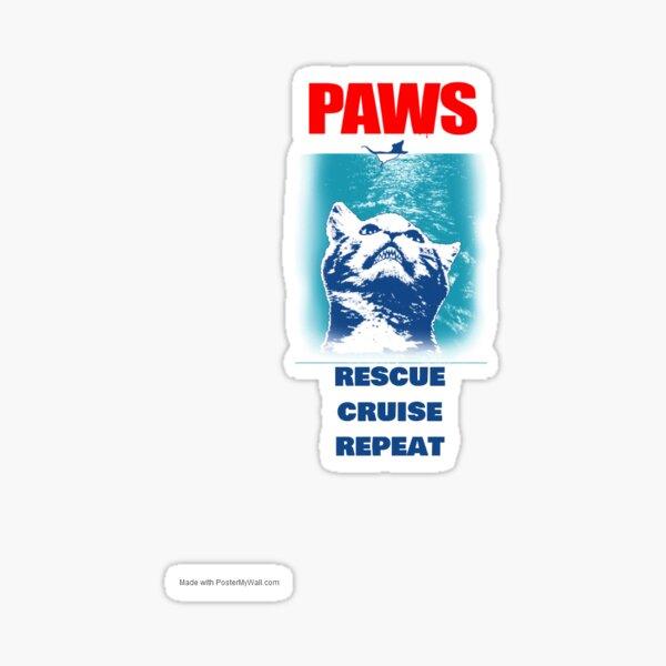 Rescue Cruise Repeat Sticker