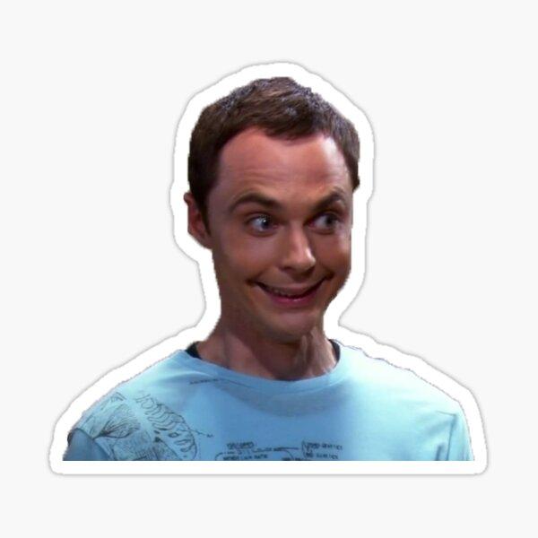 Sheldon stickers Glossy Sticker