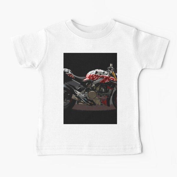 Ducati Streetfighter Prototype Pikes Peak International Hill Climb Baby T-Shirt