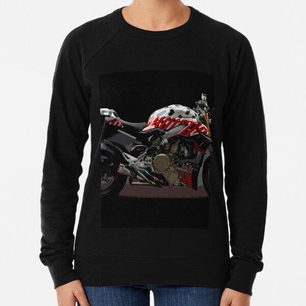Ducati Streetfighter Prototype Pikes Peak International Hill Climb Lightweight Sweatshirt