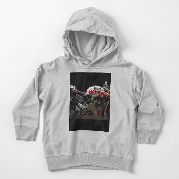 Ducati Streetfighter Prototype Pikes Peak International Hill Climb Toddler Pullover Hoodie