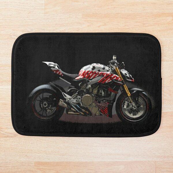 Ducati Streetfighter Prototype Pikes Peak International Hill Climb Bath Mat