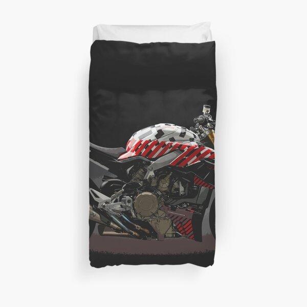 Ducati Streetfighter Prototype Pikes Peak International Hill Climb Duvet Cover