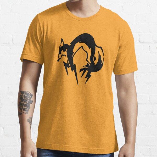 Metal Gear Solid - Fox (Black) Essential T-Shirt