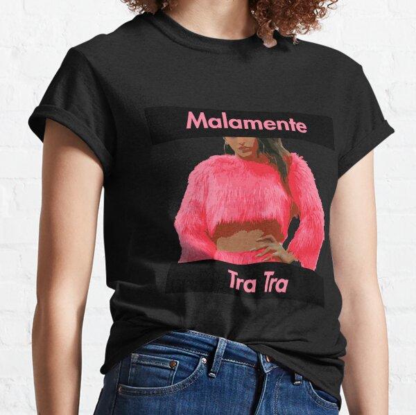 Rosalia Malamente Pink Lettering  Camiseta clásica