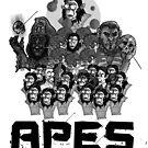 Pop: APES! by Jokertoons