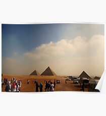 Pyramids - Breast Cancer Walk Poster