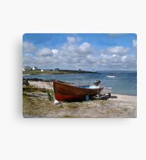 Port Charlotte Boats Canvas Print