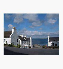 Port Charlotte, Islay Photographic Print
