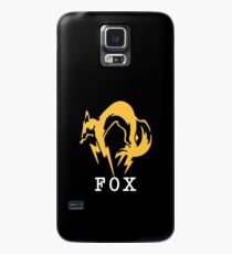 Metal Gear Solid - FOX +text (over heart) Case/Skin for Samsung Galaxy