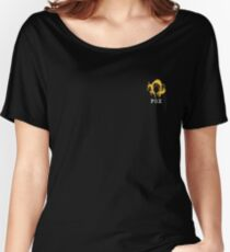 Metal Gear Solid - FOX +text (over heart) Women's Relaxed Fit T-Shirt