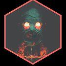 Grim Road: Hexagon in Black by RoosterRepublic
