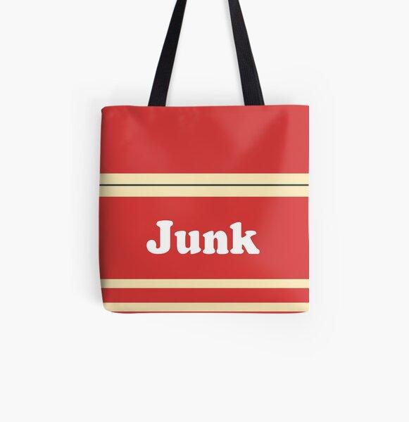 "Jack Stauber ""Junk"" All Over Print Tote Bag"