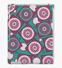 Retro pattern. Industrial background iPad Case/Skin