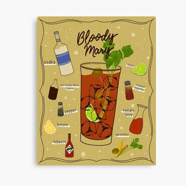Bloody Mary Canvas Print