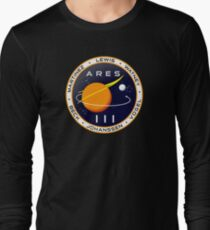Ares 3 mission to Mars - The Martian Long Sleeve T-Shirt