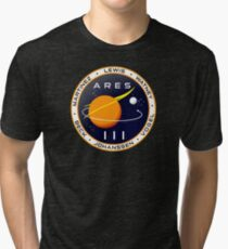 Ares 3 mission to Mars - The Martian Tri-blend T-Shirt