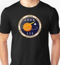 Camiseta ajustada Misión Ares 3 a Marte - El marciano