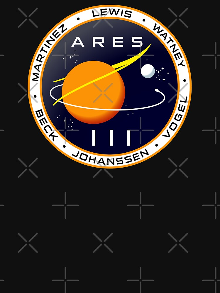 Ares 3 mission to Mars - The Martian | Unisex T-Shirt