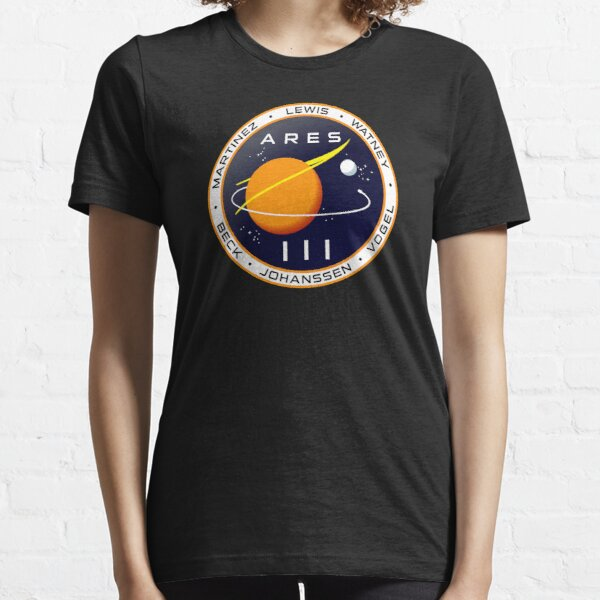 Ares 3 mission to Mars - The Martian Essential T-Shirt