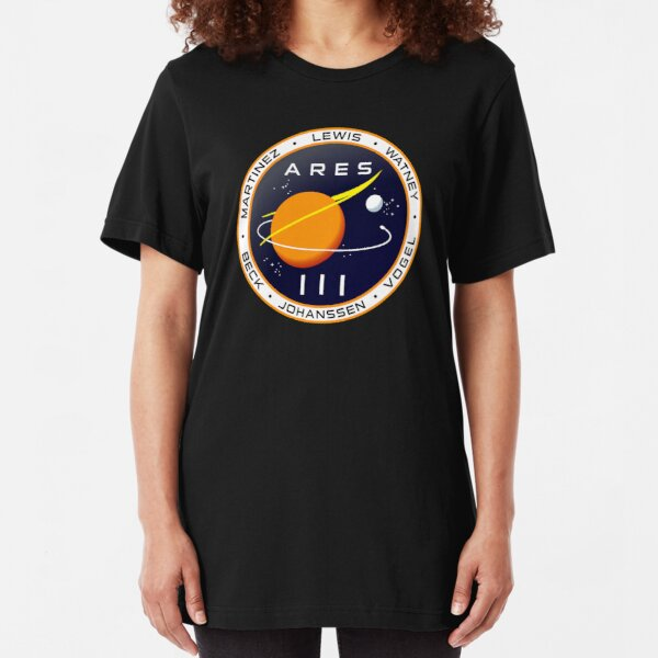 Ares 3 mission to Mars - The Martian Slim Fit T-Shirt