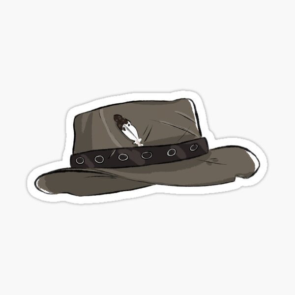 John Marston hat  Sticker
