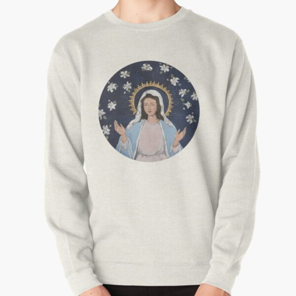 Blessed Virgin Mary Pullover Sweatshirt