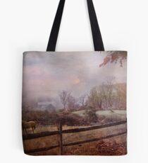 Edging Toward November Tote Bag