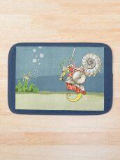 Ammoknight and Leafy Sea Dragon Bath Mat