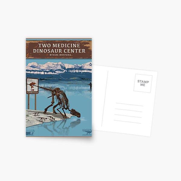 Two Medicine Dinosaur Center Postcard
