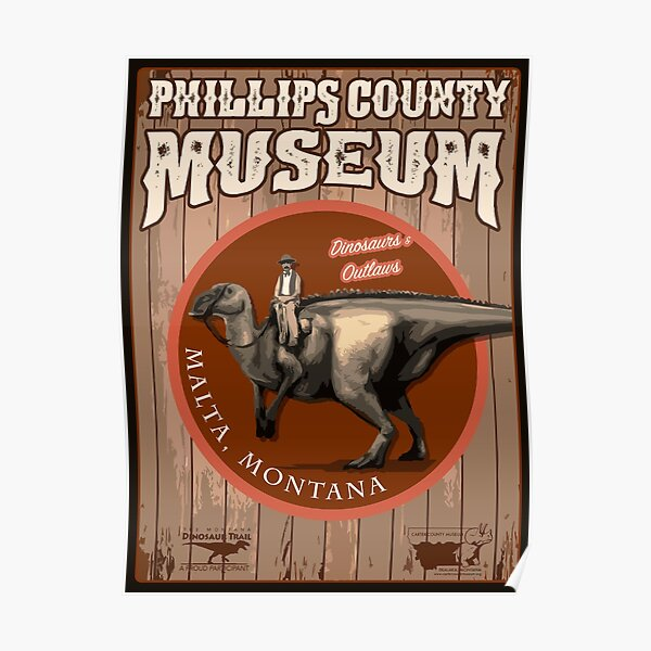 Phillips County Museum Poster