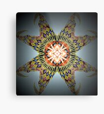 Troll In a Starfish Metal Print