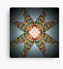 Troll In a Starfish Canvas Print