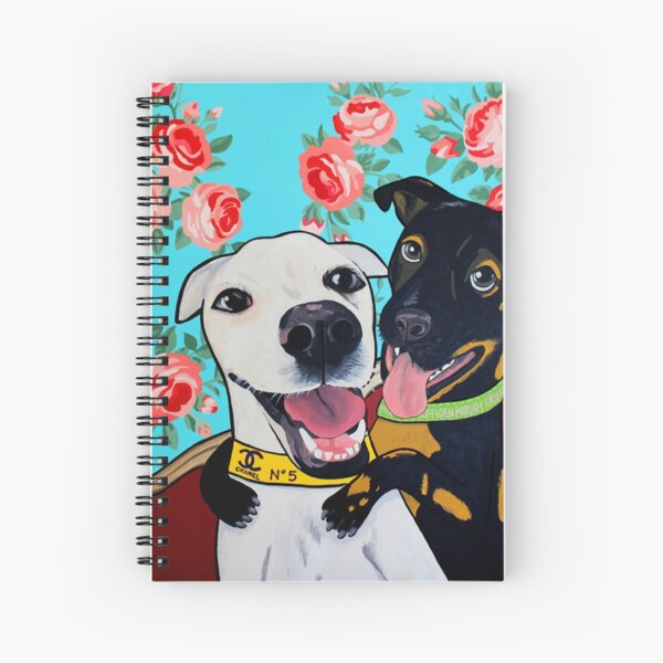 Happy Dogs  Spiral Notebook