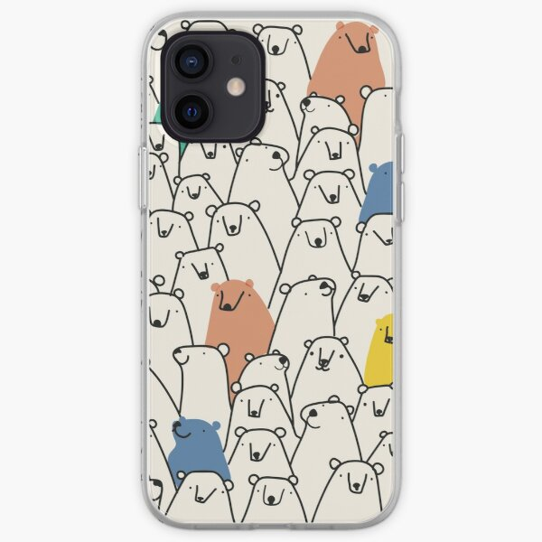 Motif ours Coque souple iPhone