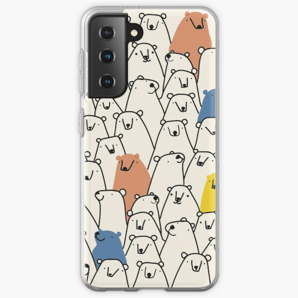 Bears pattern Samsung Galaxy Soft Case