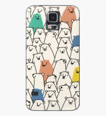 Trägt Muster Hülle & Klebefolie für Samsung Galaxy