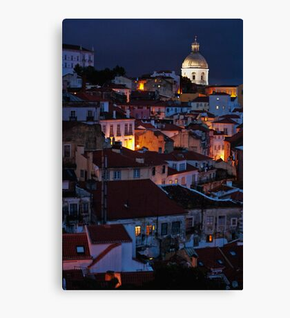 Lights of Lisboa Canvas Print