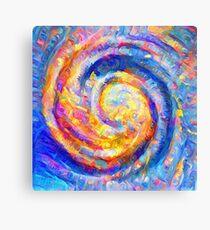 Abstract segmentation of phoenix Canvas Print