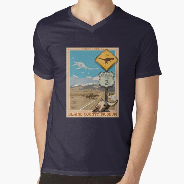 Blaine County Museum V-Neck T-Shirt