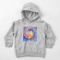 Abstract segmentation of phoenix Toddler Pullover Hoodie
