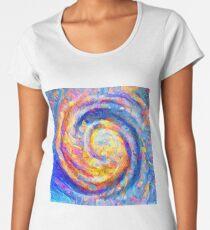 Abstract segmentation of phoenix Premium Scoop T-Shirt