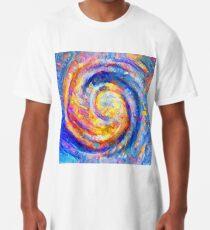 Abstract segmentation of phoenix Long T-Shirt